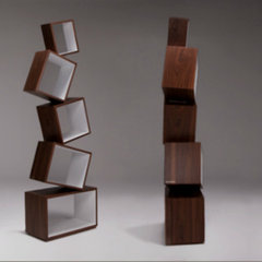 modern bookcases cabinets and computer armoires by malaganadesign.com