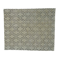 1800-Get-A-Rug - Handmade 100% Wool Embossed Design Moroccan Berber Oriental Rug Sh20814 - Our Modern & Contemporary hand knotted rug collection contains some of the latest designs in the industry. The range includes geometric, transitional, abstract, and modern designs; from the Tibetans to the Gabbeh. We offer an entire line of contemporary designs, whether you're searching for sophisticated and muted to the vibrant and bold handmade rugs.