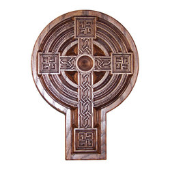 Carved Celtic Cross