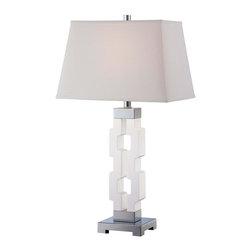 Minka-Lavery - Minka-Lavery 1-Light Table Lamp - Illumination