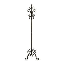 Sterling Industries - Sterling Industries 51-10048 Iron Coat Rack In Bowen Bronze - Coat Stand (1)