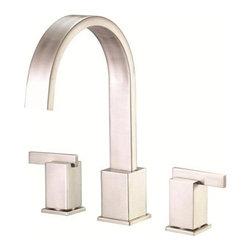 Danze Sirius Roman Tub Faucet Trim Kit D302044T - High-rise durable metal spout. Slip spout mounting. USE WITH VALVE: D210000BT or D215000BT.