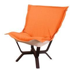 Howard Elliott - Howard Elliott Sterling Canyon Milan Puff Chair - Milan puff chair sterling canyon
