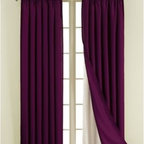Sound Asleep - Sound Asleep Blackout Window Curtain Liner - Transform any curtain panel or drapery into a blackout window treatment by adding the Sound Asleep Blackout Curtain Liner, the Official Curtain Liner of the National Sleep Foundation.