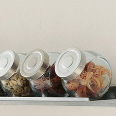 Modern Food Containers And Storage Spice Jars