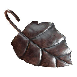 Deco Glow - Leaf-shaped Metal Candle Holder - These  attractive  leaf-shaped  metal  candle  holders  are  the  perfect  way  to  display  any  pillar  candle.  The  perfect  addition  to  your  tabletop  display  or  for  your  rustic  cabin  or  lodge  decor.  Pair  it  with  a  rustic  birch  bark  or  pine  tree  bark  candle  for  an  attractive  display.