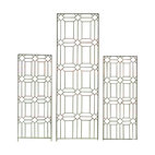 H Potter - H Potter Diamond Trellis - Set of Two - Evoking the look of stained-glass window frames in a church, this trellis design features a beautiful pattern of diamonds and rectangles. Its thin appearance allows you to notice it, without becoming overwhelming to your space.