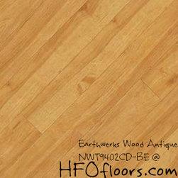 Earthwerks Wood Antique Beveled Edge Plank - Earthwerks Wood Antique, NWT9402CD-BE. Available at HFOfloors.com.