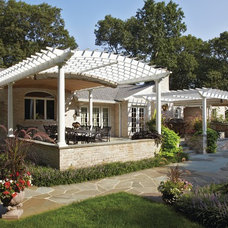 Traditional Porch by ShadeFX Canopies