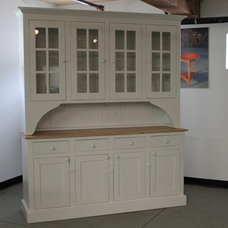 Farmhouse Storage Units And Cabinets by ECustomFinishes