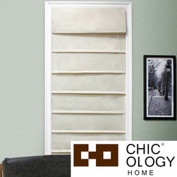 None - Chicology Sahara Sandstone Roman Shade (39 in. x 64 in.) - These natural woven roman shades provide softened light and moderate privacy which allows you to get the right amount of sun during the day and privacy at night. Perfect for your home or office.