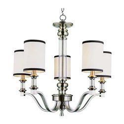 Trans Globe Lighting - Trans Globe Lighting 7975 BN Chandelier In Brushed Nickel - Part Number: 7975 BN