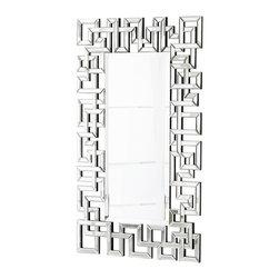 Cyan Design - Cyan Design 05700 Psara Modern / Contemporary Rectangular Mirror - Cyan Design 05700 Psara Modern / Contemporary Rectangular Mirror