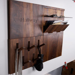 modern hooks and hangers by Thout