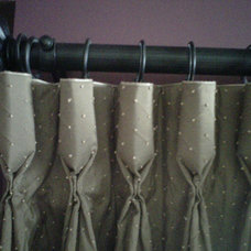 Traditional Curtains by Sheila's Window Toppers & More Ltd