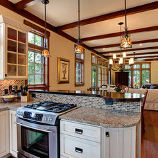 Craftsman  by Living Stone Construction, Inc.