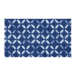 Inova Team - Modern Rug - Reminiscent of the Japanese tie-dying technique known as shibori, we love the unique pattern of this area rug. Made of 100% woven polyester, it is both soft and durable. Place in your living room or entryway to create a textured and visually appealing focal point.