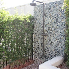 shower outside