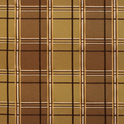 Green And Brown Multi Color Plaid Faux Silk Upholstery Fabric By The Yard - This upholstery fabric feels and looks like silk, but is more durable and easier to maintain. This fabric will look great when used for upholstery, window treatments or bedding. This material is sure to standout in any space!