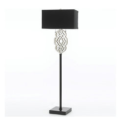 AF Lighting - Af Lighting 8423-FL Candice Olson Grill Floor Lamp - AF Lighting 8423-FL Candice Olson Grill Floor Lamp