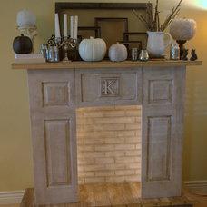 Heart Break Kids - Blog - My very own DIY Faux Fireplace