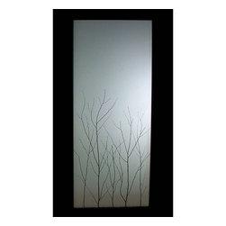 Birch Branch Thatch - Pocket Doors - Open | Close Doors