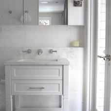 Traditional Bathroom by ANNA CARIN Design