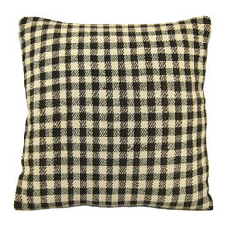 Rug & Relic - Vintage Hemp Kilim Pillow - As seen in Better Homes & Gardens and Good Housekeeping!
