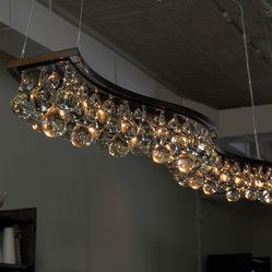 Double Wave 200cm Chandelier