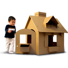 Modern Outdoor Playsets by This Little Piggy's House