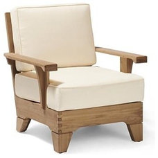 Traditional Indoor Chaise Lounge Chairs by FRONTGATE