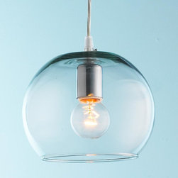 Young House Love Bubble Glass Pendant -