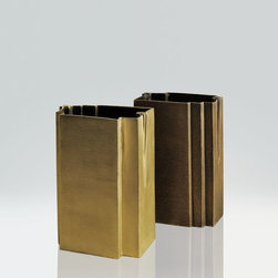 ACCESSORIES - Fante Bronze/Golden Brass Vase