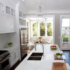 Traditional Kitchen by Marsh and Clark Design