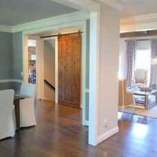 Eclectic Interior Doors Barn door