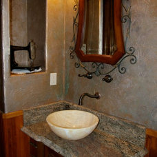 Craftsman Bathroom by Robbins Contracting