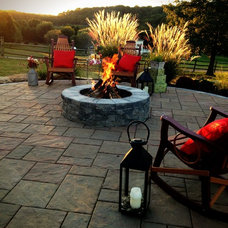 Traditional Fire Pits by Swan Creek Landscaping