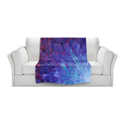 DiaNoche Designs - Throw Blanket Fleece - Scales of a Different Color - Original artwork printed to an ultra soft fleece blanket for a unique look and feel of your living room couch or bedroom space. Dianoche Designs uses images from artists all over the world to create Illuminated art, canvas art, sheets, pillows, duvets, blankets and many other items that you can print to. Every purchase supports an artist!