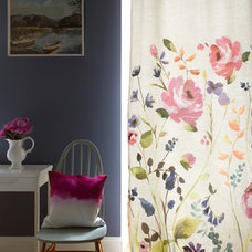 Contemporary Curtains by Bluebellgray