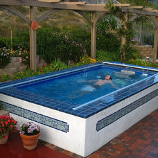 Mediterranean Swimming Pools And Spas by Endless Pools