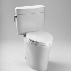 """Toto - Toto CST794EFR#01 Cotton Nexus Elongated Bowl toilet and Tank with - Elongated Bowl toilet and Tank with Right Hand Trip Lever, 12"""" Rough-In and 1.28 GPF from the Eco Nexus SeriesWhen it comes to Toto, being just the newest and most advanced product has never been nor needed to be the primary focus. Toto s ideas start with the people, and discovering what they need and want to help them in their daily lives. The days of things being pretty just for pretty s sake are over. When it comes to Toto you will get it all. A beautiful design, with high quality parts, inside and out, that will last longer than you ever expected. Toto is the worldwide leader in plumbing, and although they are known for their Toilets and unique washlets, Toto carries everything from sinks and faucets, to bathroom accessories and urinals with flushometers. So whether it be a replacement toilet seat, a new bath tub or a whole new, higher efficiency money saving toilet, Toto has what you need, at a reasonable price.Features:Decorative Close Coupled Two Piece Toilet The Nexus  Suite: Matching Toilet, Lavatories And Tub Universal Height For Maximum Comfort E-Max  Flushing System: Technology 1.28 GPF Upgrade With A Traditional Soft close  Seat Or A Washlet  Fast Flush: Wide 3"""" Flush Valve Is 125% Larger Than Conventional 2"""" Flush Valves ADA Compliant Large Water Surface Specifications:Water Use 1.28 GPFFlush System E-Max Min. Water Pressure 8 psi (static)Water Surface 10-1/4"""" x 8-1/4""""Trap Diameter 2-1/16""""Rough-in 12""""Trap Seal 2-1/4""""Warranty One Year Limited WarrantyMaterial Vitreous chinaShipping weight 89.5"""