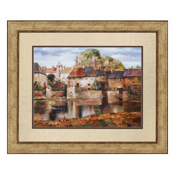 Paragon - La Seyne - sur - Mer - Framed Art - 3166 - Each product is custom made upon order so there might be small variations from the picture displayed. No two pieces are exactly alike.