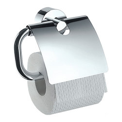 Hansgrohe - Hansgrohe-41538000 Axor Uno Toilet Paper Holder with Cover in Chrome - Hansgrohe-41538000 Axor Uno Toilet Paper Holder with Cover in ChromeTo make the daily rituals in the bathroom even more comfortable for you, Hansgrohe offers accessories that match the faucet and shower lines within the World of Styles. These compelling counterparts offer beautiful designs as well as create convenience. Hansgrohe-41538000 Axor Uno Toilet Paper Holder with Cover in Chrome, Features:• Solid brass construction• 2-1/8-Inch escutcheon diameter• 5-5/8-Inch widthHansgrohe-41538000 Specification Sheet Hansgrohe Limited WarrantyManufacturer: HansgroheModel Number: 41538000Manufacturer Part Number: Hansgrohe 41538000Collection: Axor UnoFinish Code: Finish: ChromeUPC: 011097331072This product is also listed under the following Manufacturer Numbers and Finish Codes:Hansgrohe 41538000HG4153800041538000Product Category: Bathroom AccessoriesProduct Type: Toilet Paper Holder