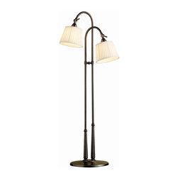 Kichler Lighting - Kichler Lighting 74112BBZ Blaine Transitional Floor Lamp In Burnished Bronze - Kichler Lighting 74112BBZ Blaine Transitional Floor Lamp In Burnished Bronze