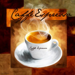 Caffe Espresso - A wonderful Collection of Coffee Art which is elegantly and classically designed to complement any cafes, modern, contemporary and traditional kitchens perfectly.