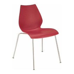 Kartell - Kartell | Maui Armless Chair, Set of 2 - Design by Vico Magistretti, 1997.