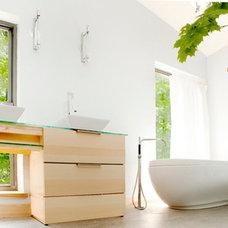 Modern Bathroom by Whiting Design