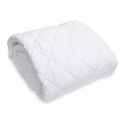 """Natura - Natura Deluxe Mattress Protector - Crib - 4220079 CRIB - Shop for Crib Pads from Hayneedle.com! About Natura Father and son team Harry and Ralph Rossdeutscher founded Natura out of a desire to solve the mystery behind having a healthier more abundant lifestyle. Research led to the discovery of just how much a quality night's sleep contributes to a productive happy daily life. Natura's founders searched for a solution to help people sleep better and live better. They set out to create a total sleep solution with benefits that were more than just """"skin deep"""". Researching how the body moves and body activity during sleep they created a bed that was designed to work with the body not against it. From there they grew a line of luxurious healthy natural bedding as well as numerous innovative sleep enhancing products to help people wake to a better day."""