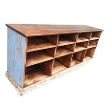 Farmhouse Storage Units And Cabinets by EcoFirstArt