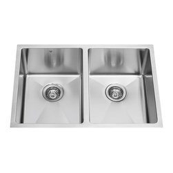 Vigo - Vigo 29-inch Undermount Stainless Steel 16 Gauge Stainless Steel kitchen sink - Give your kitchen a makeover starting with a Vigo stainless steel kitchen sink.